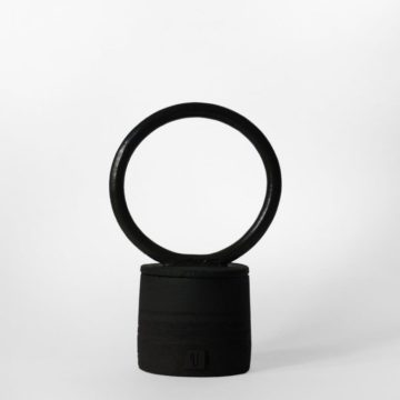 Black Moon Pot - Violaine Toth Ceramic