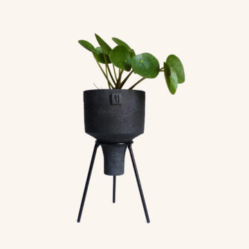 Black Moon Tripod Planter - Violaine Toth Ceramic