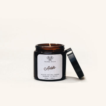 Amber Soy Candle - Garden State Candles