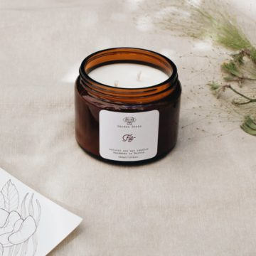 Fig Soy Candle - Garden State Candles
