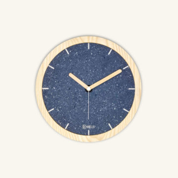Eora clock cottonblue by Kibelis