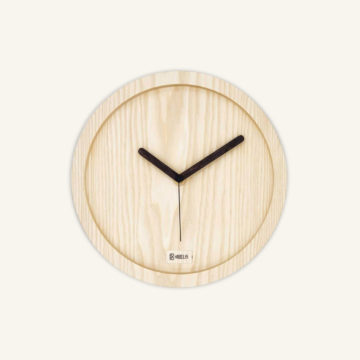 Eora Clock naked ash by Kibelis