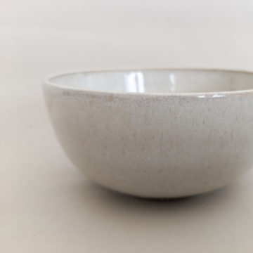 Muesli Bowl White Cream